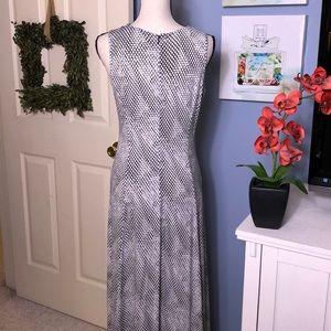 Michael Kors Dresses - Michael Kors maxi dress with silver chain tie